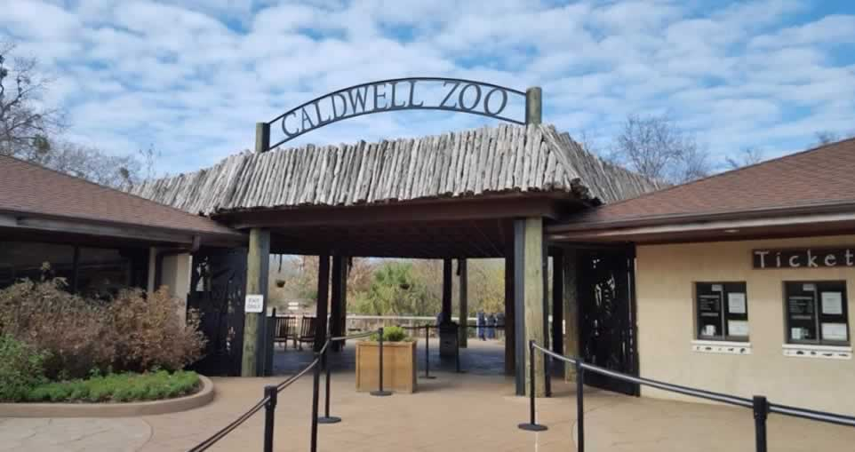 Caldwell Zoo in Tyler Texas