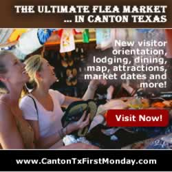 First Monday Trade Days ... in Canton Texas ... visit there now!