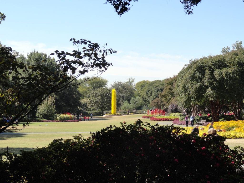 east texas botanical gardens  arboretums  flower trails and parks