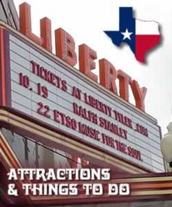 East Texas attractions and things to do ... museums, outdoors, parks, lakes, festivals, entertainment and more!