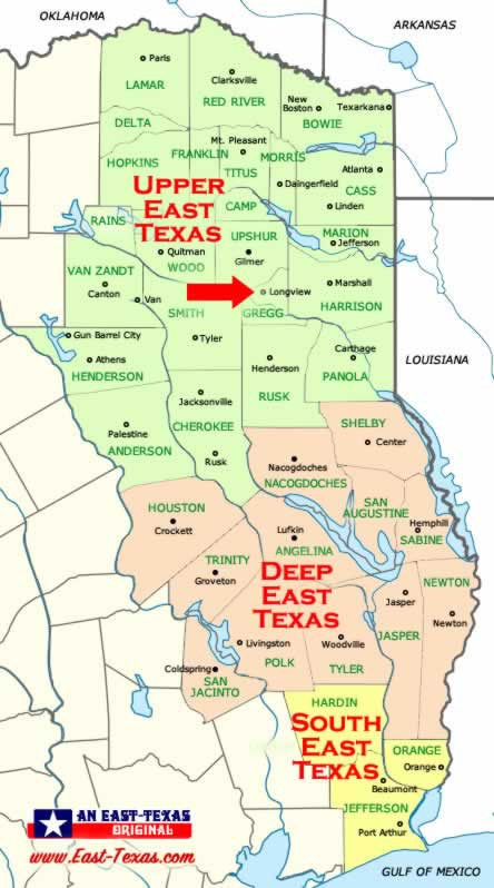 Map Of Texas Longview.Longview Texas Travel Tourism Map Attractions Schools Lakes