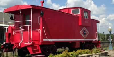 Train Rides, Tours & Depots in East Texas, locations