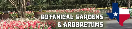 Botanical Gardens and Arboretums in East Texas