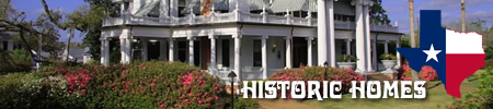Historic homes, houses and plantations in East Texas