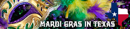 Mardi Gras 2021 in Texas - parades, balls, and links to Texas Krewes