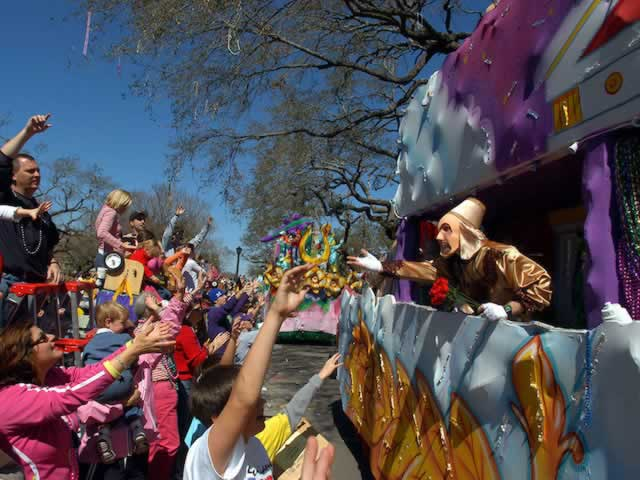 Mardi Gras in Texas