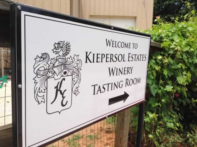 Welcome to Kiepersol Estates Winery Tasting Room