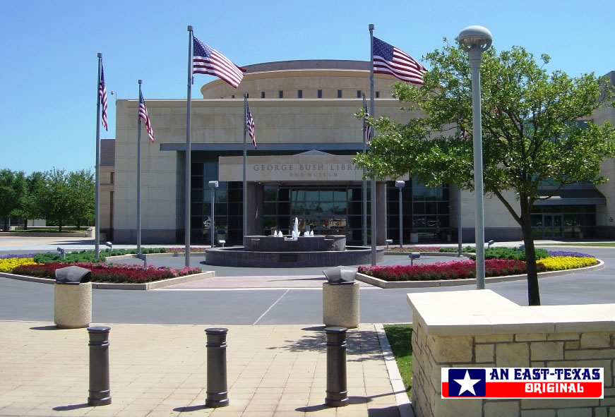 George H.W. Bush Presidential Library and Museum on the campus of Texas A&M University in College Station