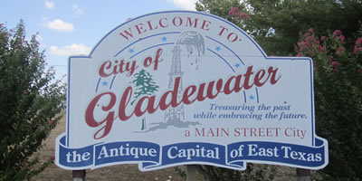 Gladewater Texas Information, Antiques, Weather, Maps