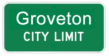 Groveton Texas city limits