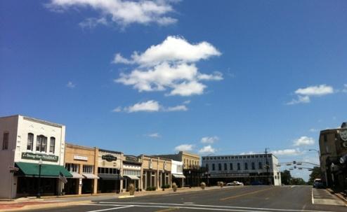 Downtown Henderson Texas