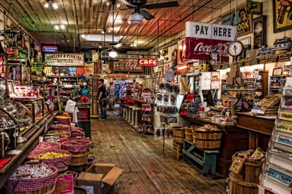 Jefferson General Store in Texas