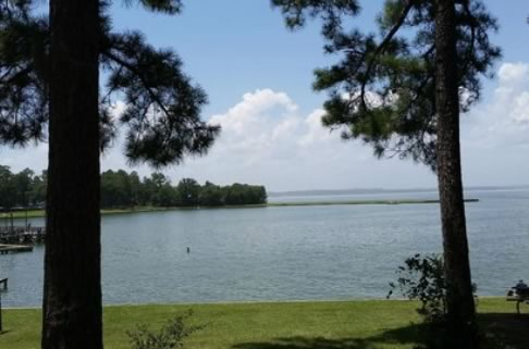 Lake Livingston in East Texas