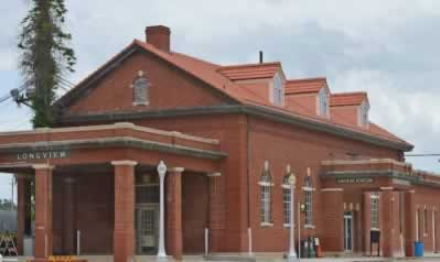 Amtrak Station, Longview Texas