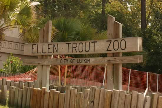 Ellen Trout Zoo in Lufkin