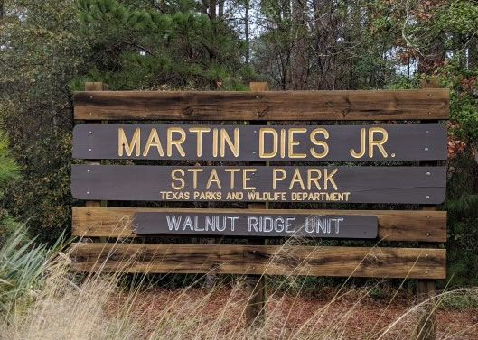 Martin Dies, Jr. State Park in Texas