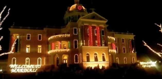 Marshall Texas 2018 Wonderland of Lights, Tourism, Hotels, Map ...