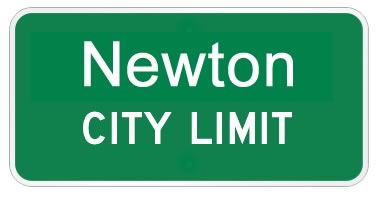Newton Texas city limits