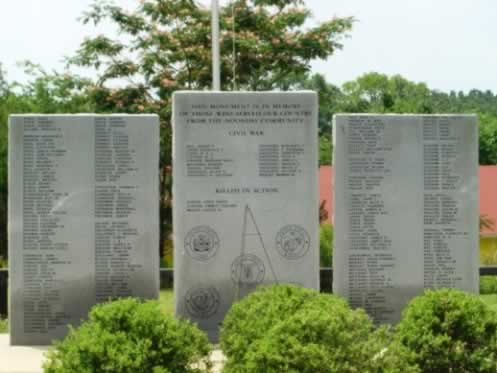 Noonday Texas Veterans Monument