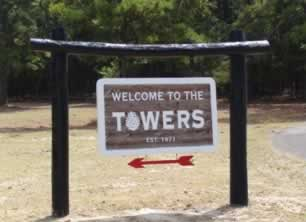 Welcome to the Towers ... at Pine Cove