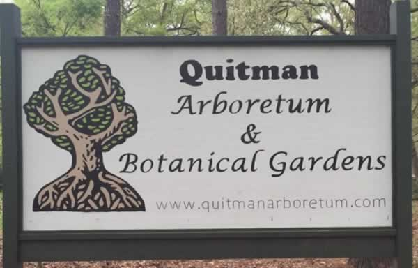 Arboretum and Botanical Gardens in Quitman, Texas
