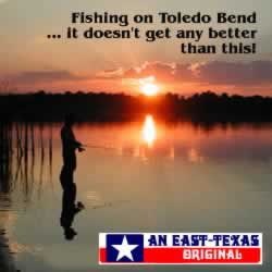 Fishing on Toledo Bend ... it doesn't get any better than this!