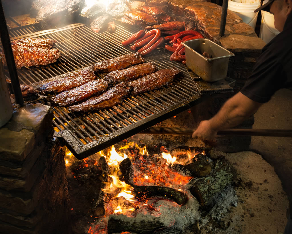 BBQ done to perfection ... at Salt Lick!