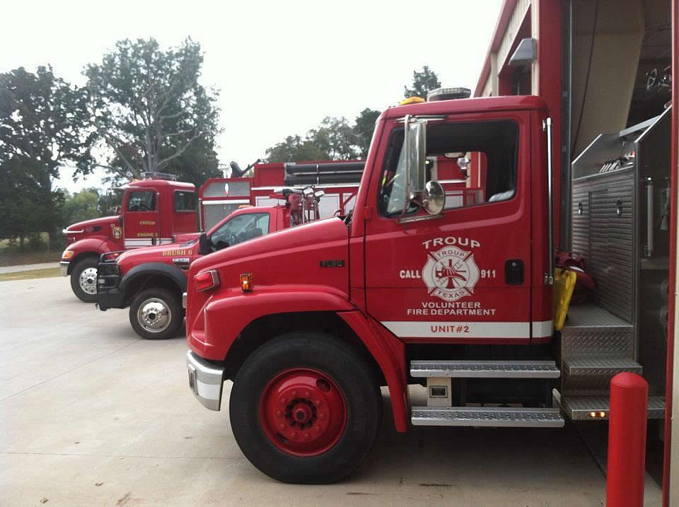 Troup Volunteer Fire Department in Texas
