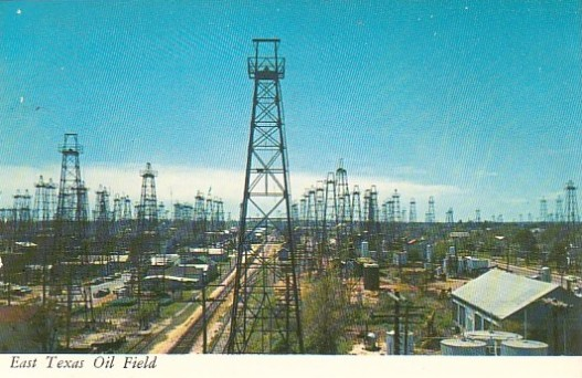 Image result for east texas oil boom map