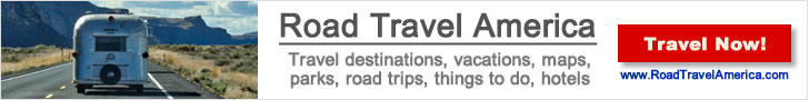 Visiting Texas or around the USA?  Click for ideas on travel destinations, vacations, maps, parks, road trips, things to do ... and lots more, at Road Travel America!