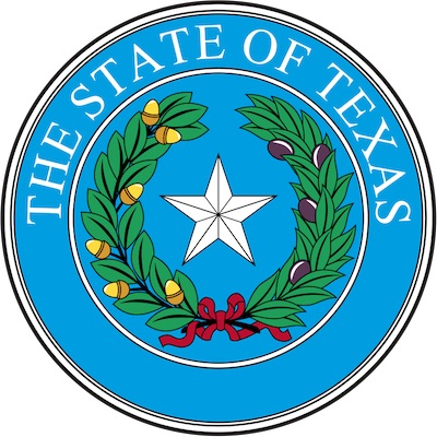 Official Seal of the State of Texas