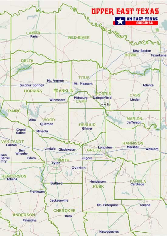 Map Of Texas With Cities And Counties.East Texas Maps Maps Of East Texas Counties List Of Texas Counties
